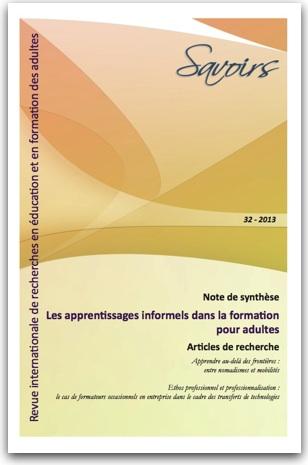 revue Savoirs couverture du n° 32