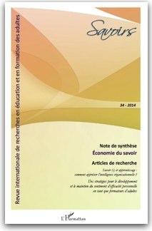 revue Savoirs couverture n34
